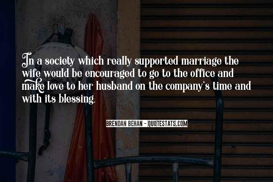 Quotes About A Husband's Love For His Wife #25790