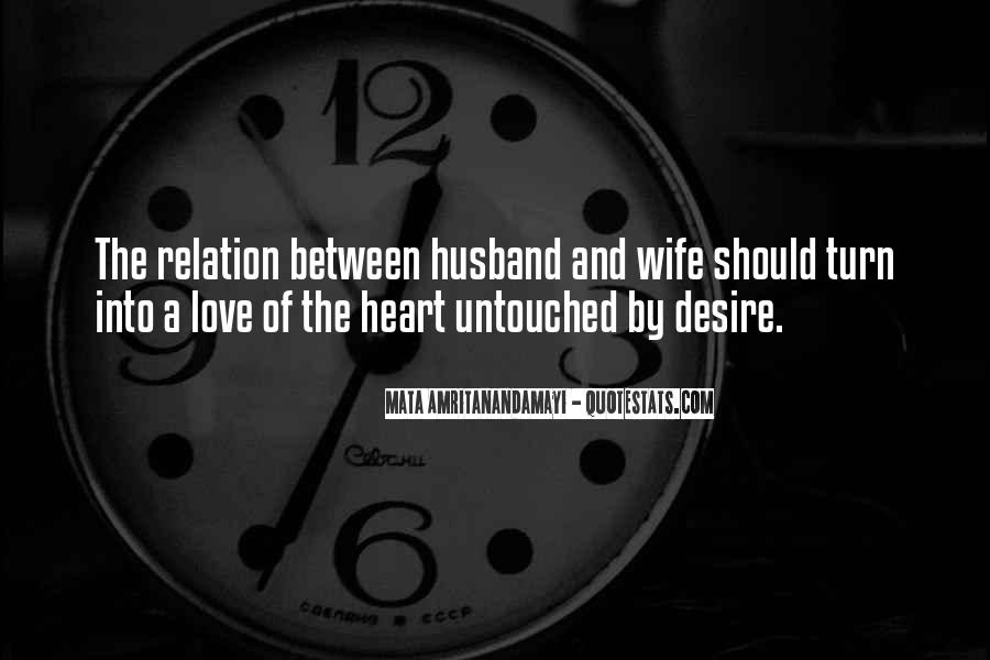Quotes About A Husband's Love For His Wife #351242