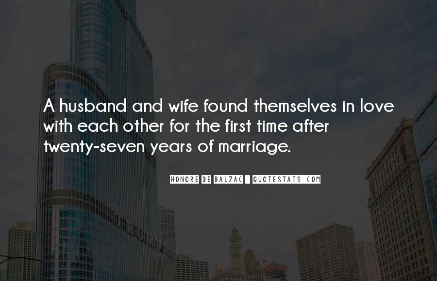 Quotes About A Husband's Love For His Wife #423960