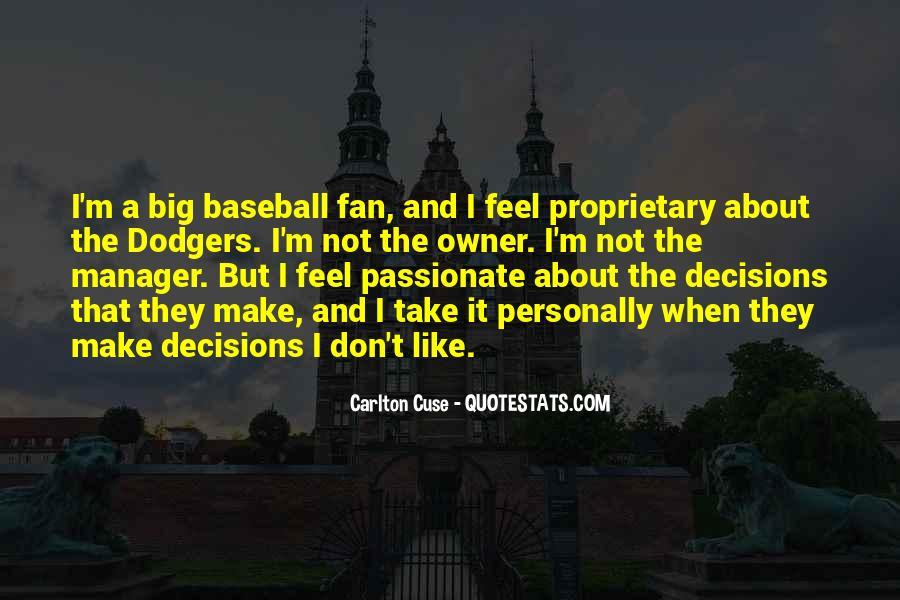 Baseball Manager Sayings #1278531
