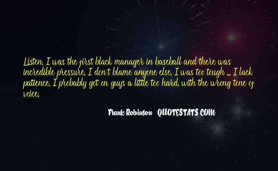 Baseball Manager Sayings #1526931