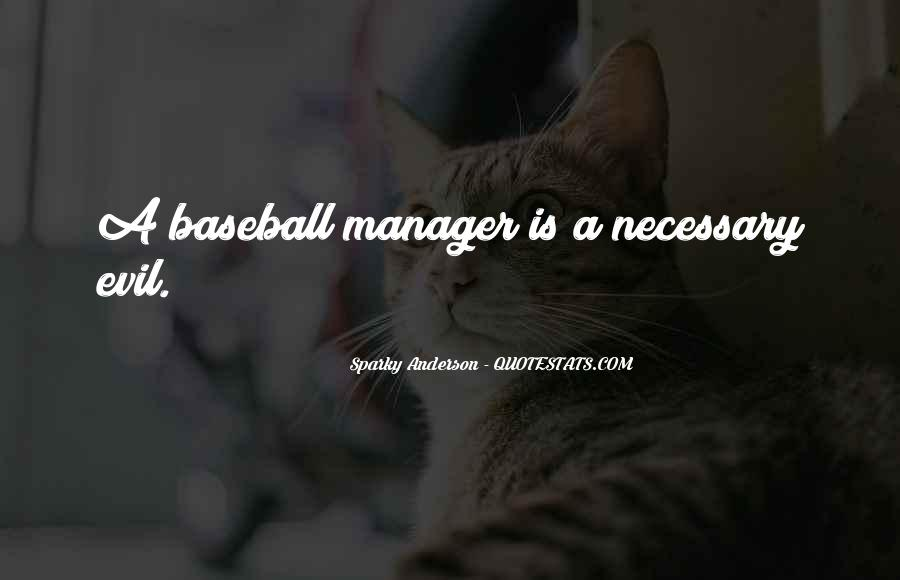 Baseball Manager Sayings #1549118