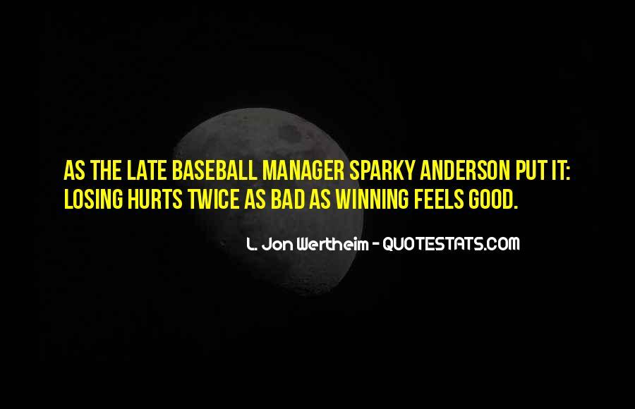Baseball Manager Sayings #176929