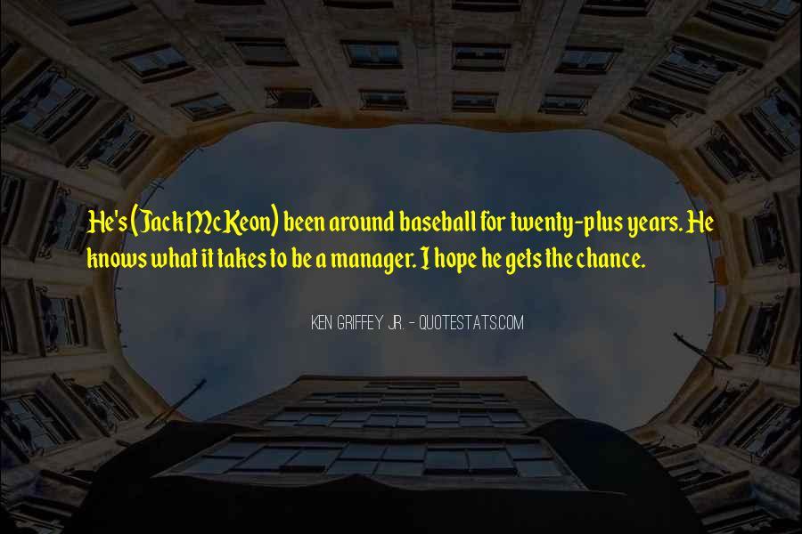 Baseball Manager Sayings #260653