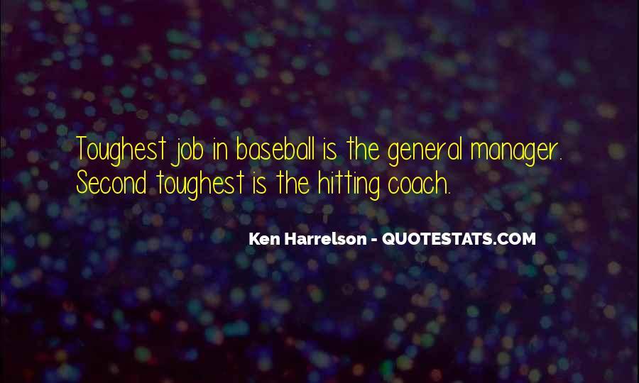 Baseball Manager Sayings #73407