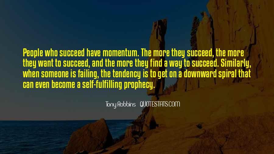 Momentum Motivational Sayings #1806379