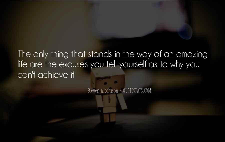 More Excuses Than Sayings #12775