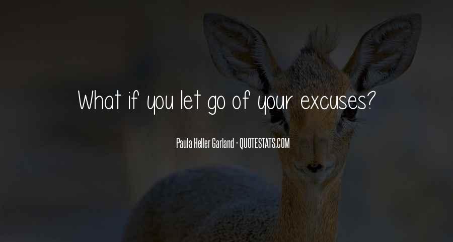More Excuses Than Sayings #48469