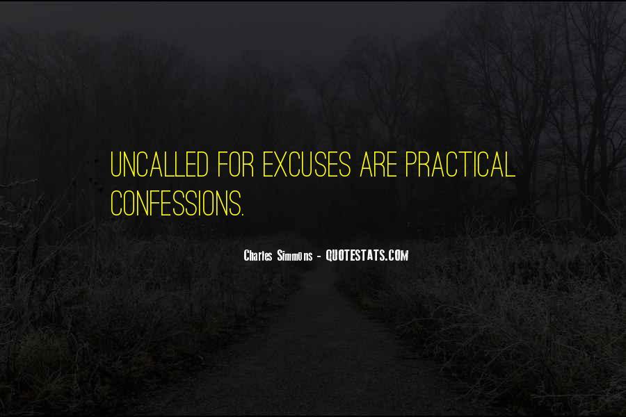 More Excuses Than Sayings #58108