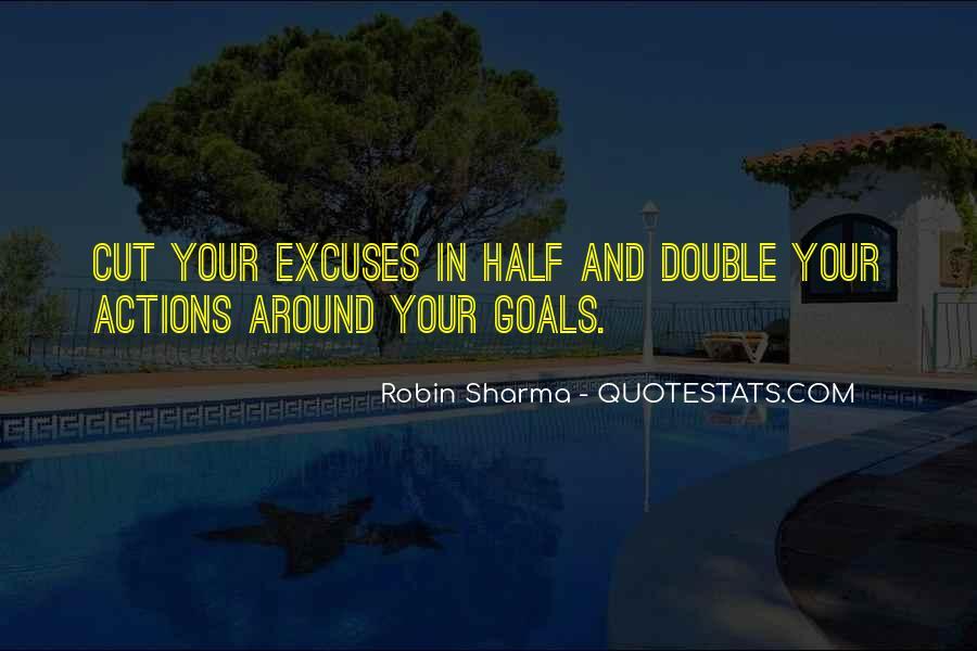 More Excuses Than Sayings #60678