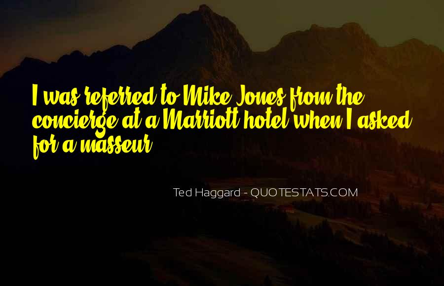 Quotes About The Marriott #1149690