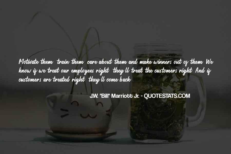 Quotes About The Marriott #1494461