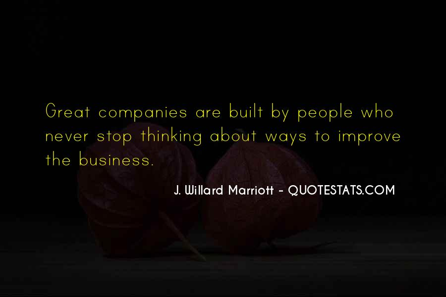 Quotes About The Marriott #1524540