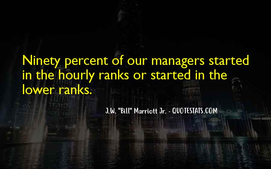 Quotes About The Marriott #659408