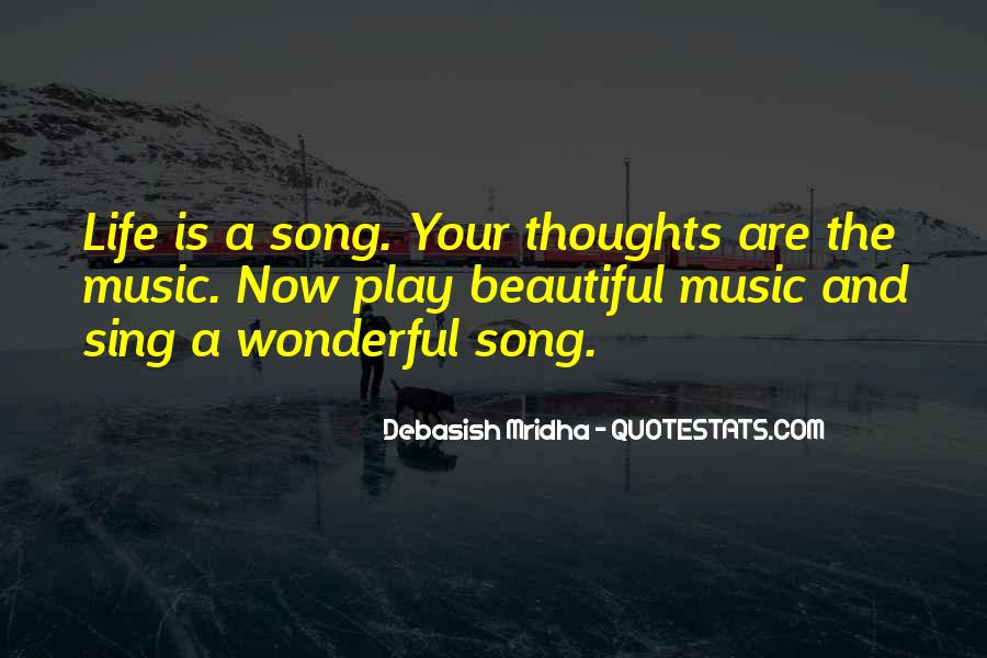 Music Quotes And Sayings #152937