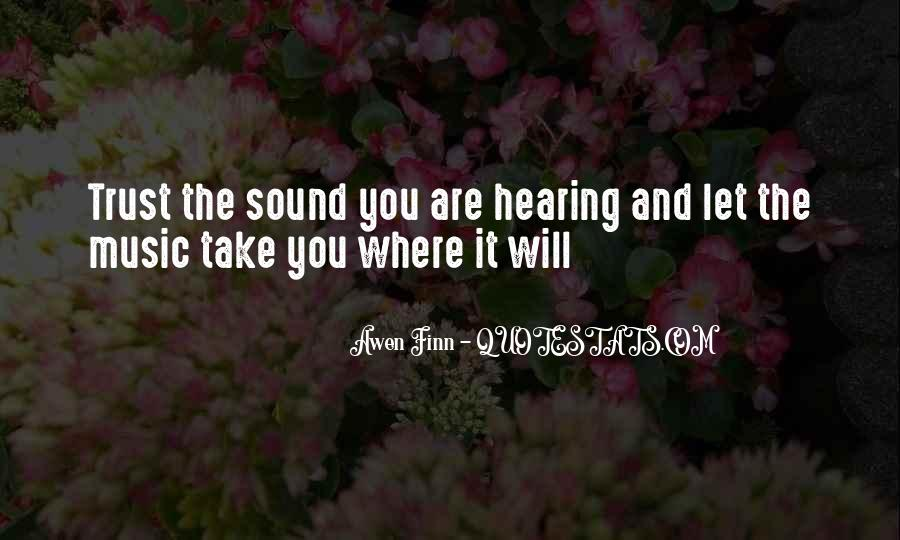 Music Quotes And Sayings #1754892