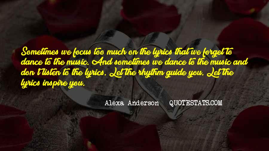 Music Quotes And Sayings #588867