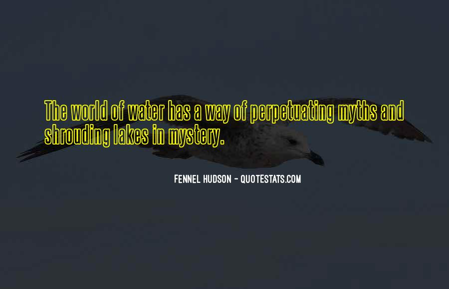 Mystery Quotes And Sayings #1105572