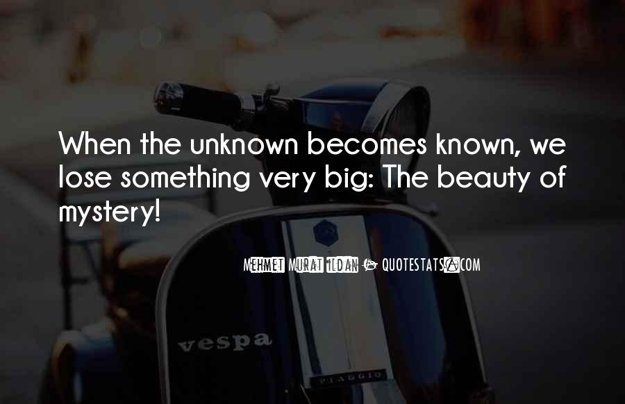 Mystery Quotes And Sayings #1208243