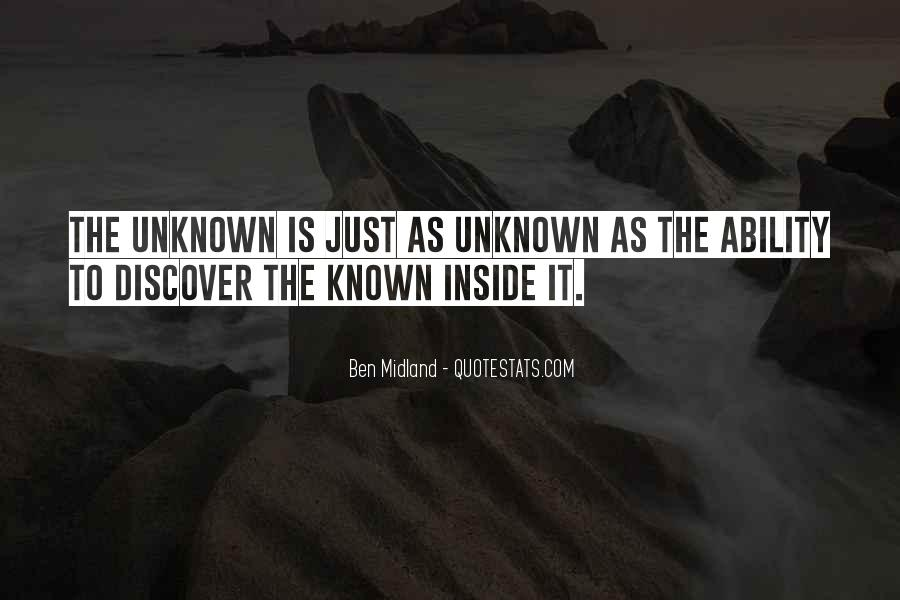 Mystery Quotes And Sayings #139863