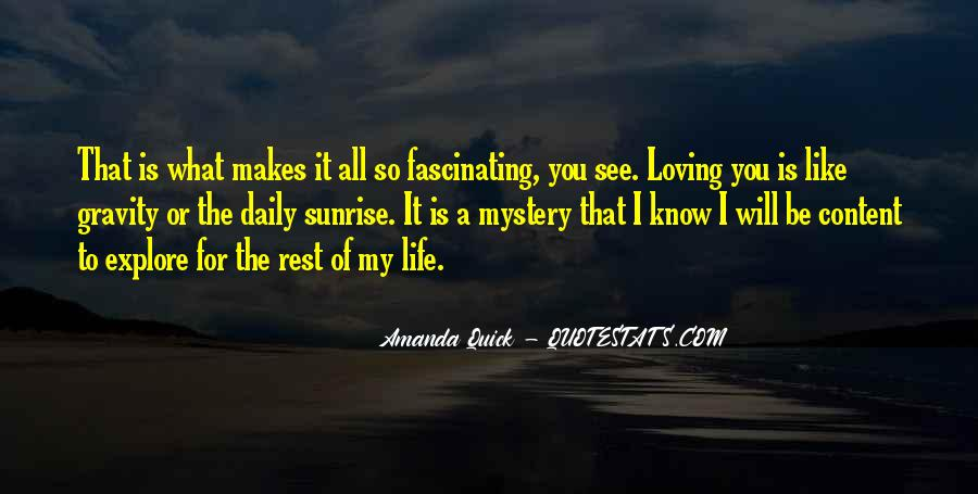 Mystery Quotes And Sayings #1623494