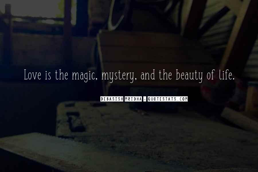 Mystery Quotes And Sayings #1755957
