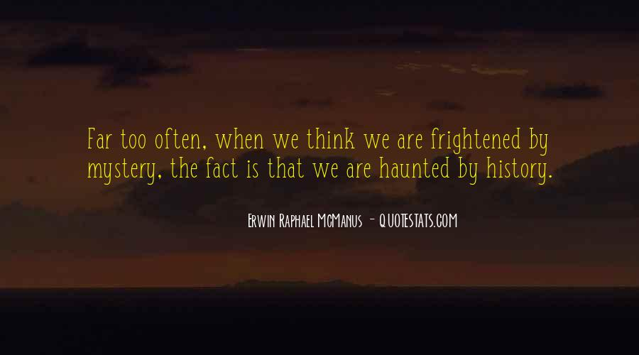 Mystery Quotes And Sayings #22960
