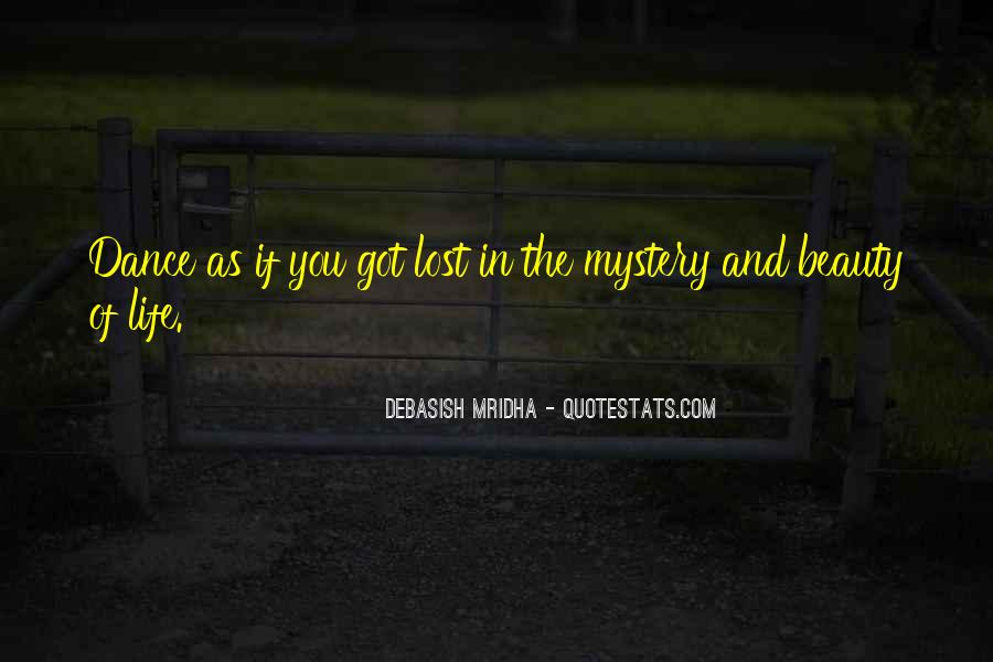 Mystery Quotes And Sayings #268784
