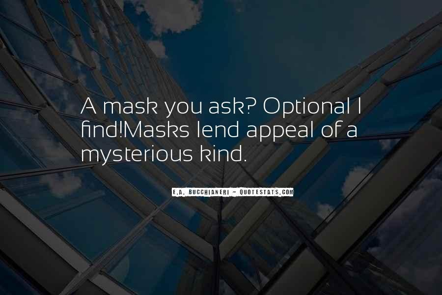 Mystery Quotes And Sayings #49535