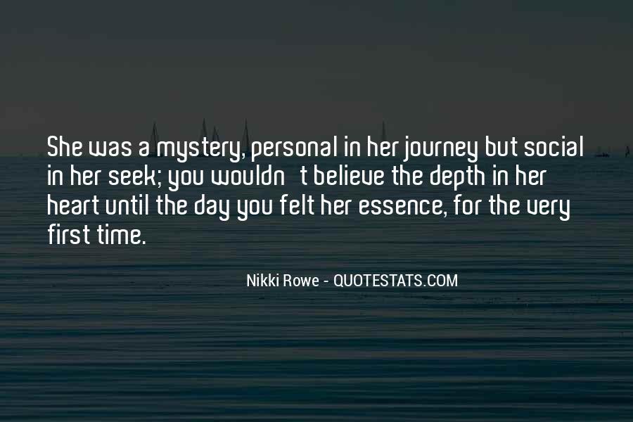 Mystery Quotes And Sayings #496829