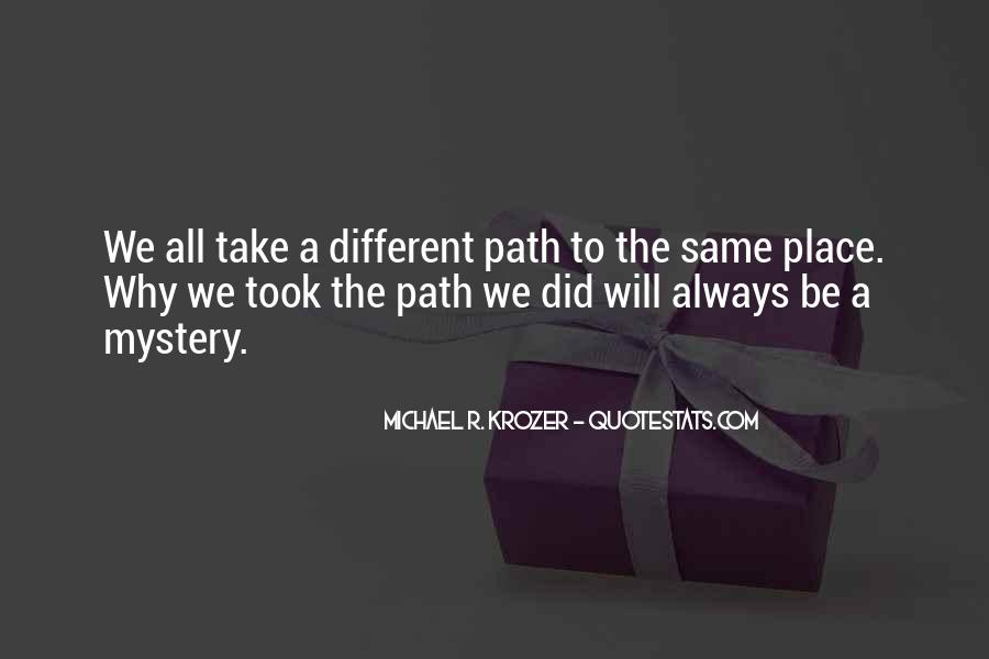 Mystery Quotes And Sayings #995713