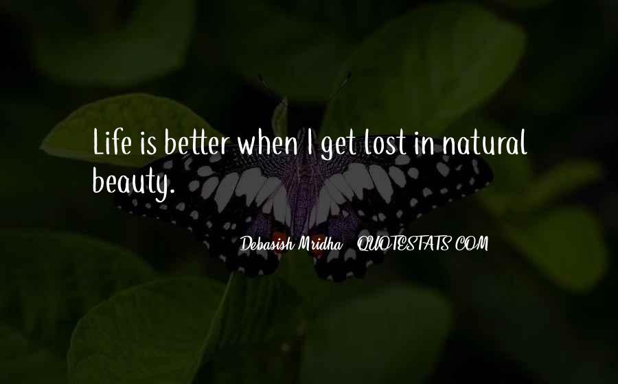 Natural Beauty Quotes Sayings #288529