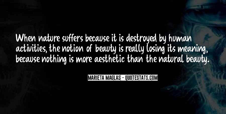 Natural Beauty Quotes Sayings #808857