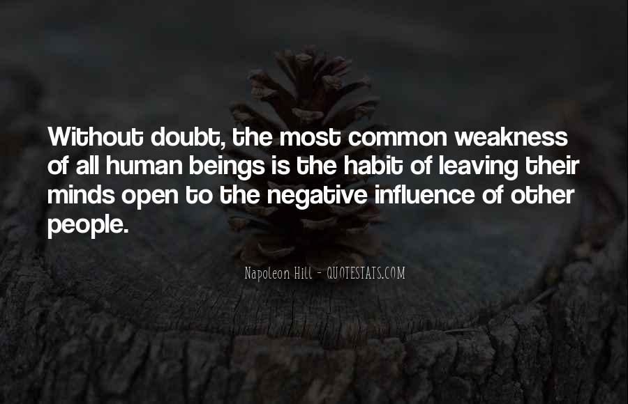 Common Negative Sayings #288988