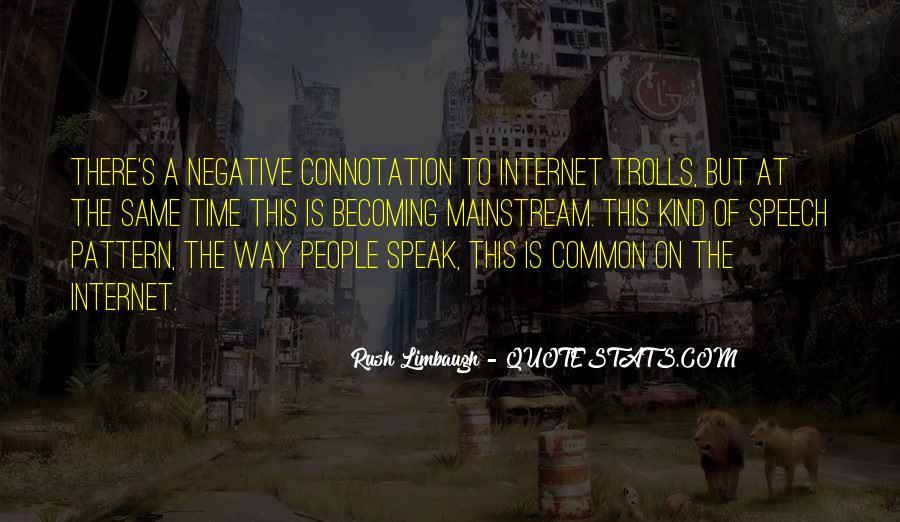 Common Negative Sayings #833653