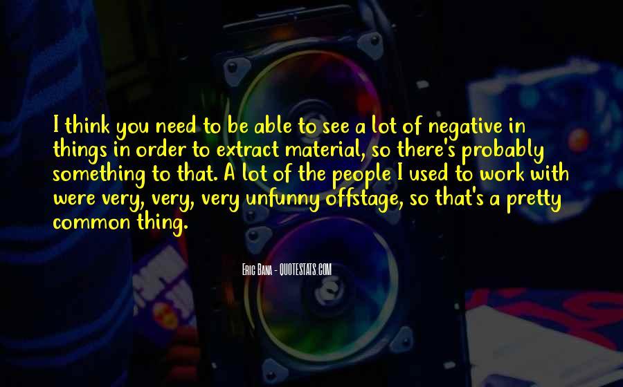 Common Negative Sayings #977209