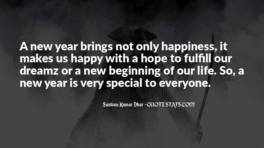 Happy New Sayings #43637