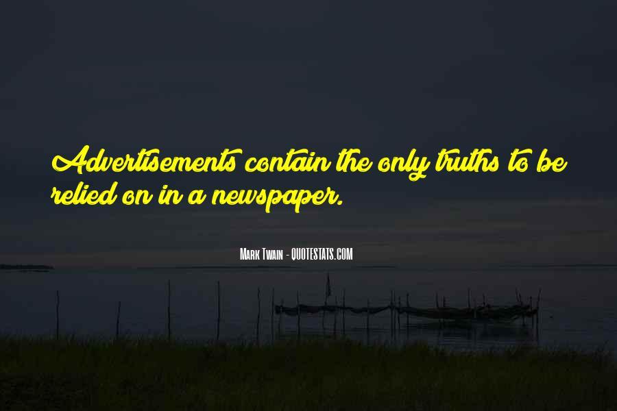 Funny Newspaper Sayings #257635