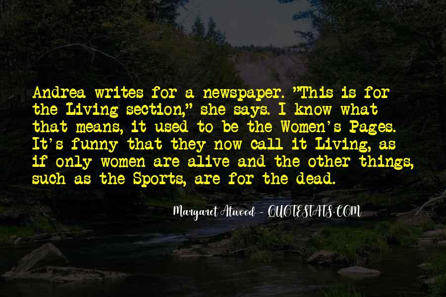 Funny Newspaper Sayings #494635