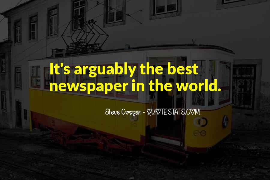 Funny Newspaper Sayings #626493