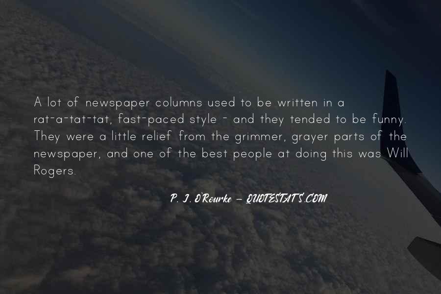 Funny Newspaper Sayings #776722