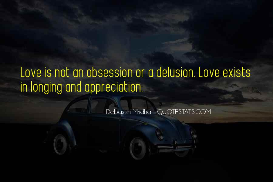 Obsession Quotes And Sayings #902688