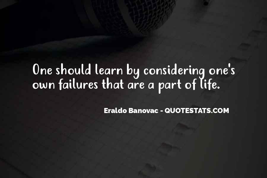 Quotes About Learning From Your Failures #1107194