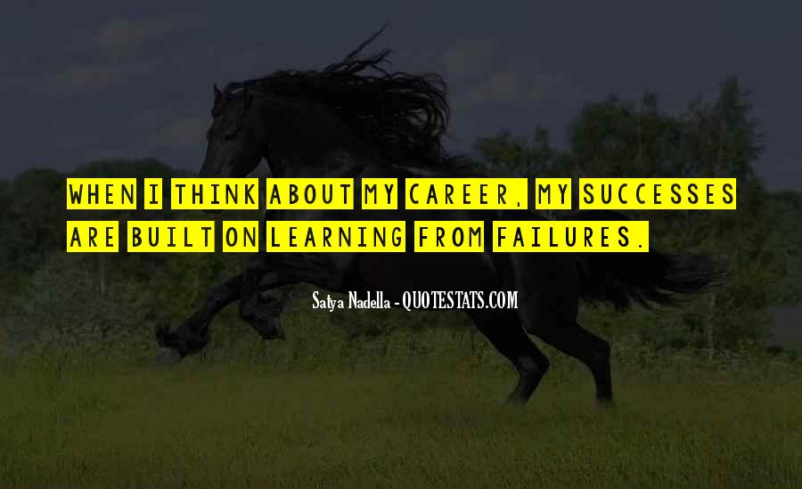 Quotes About Learning From Your Failures #1426379
