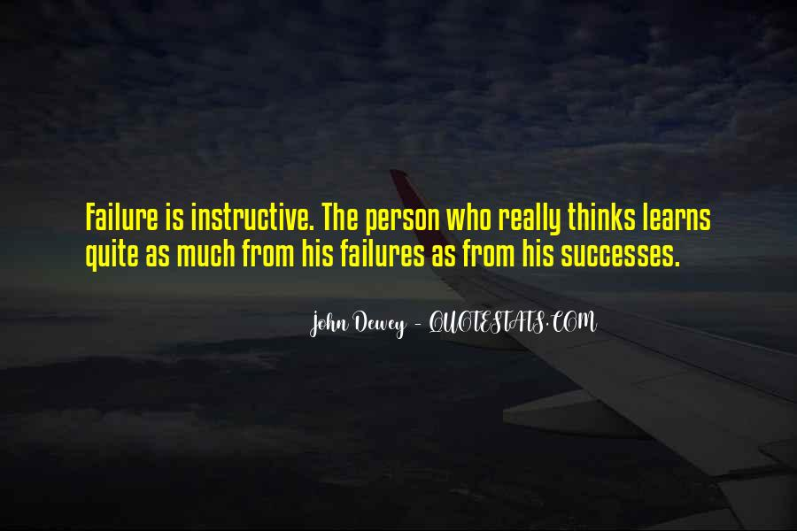 Quotes About Learning From Your Failures #1594337