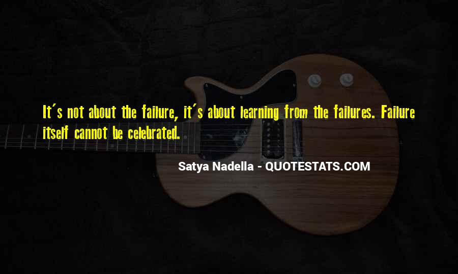 Quotes About Learning From Your Failures #1843061