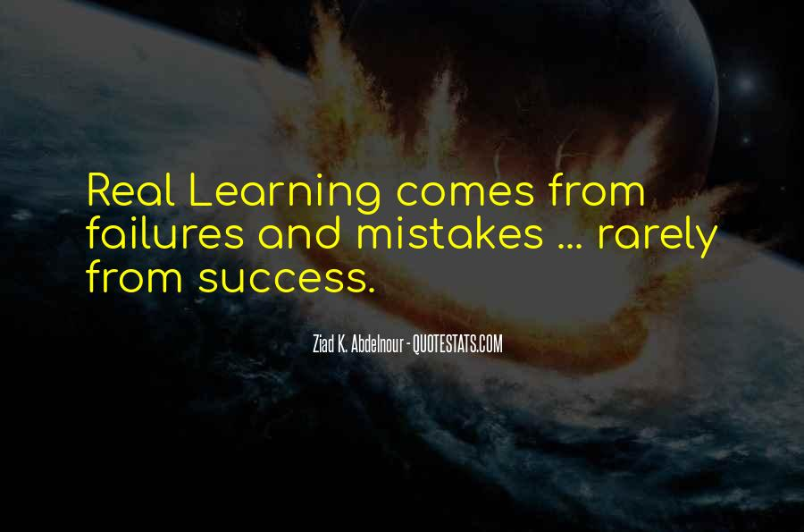 Quotes About Learning From Your Failures #249161