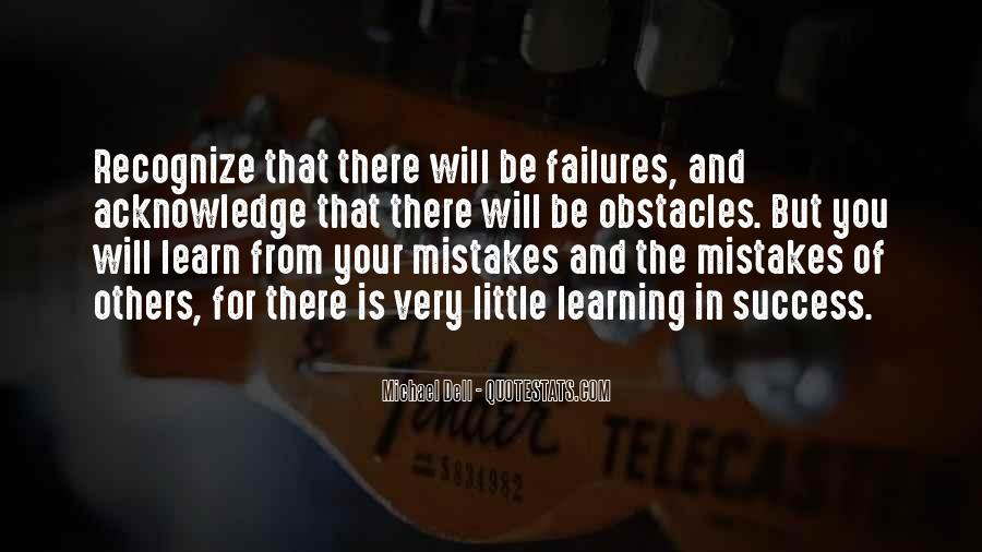 Quotes About Learning From Your Failures #351574