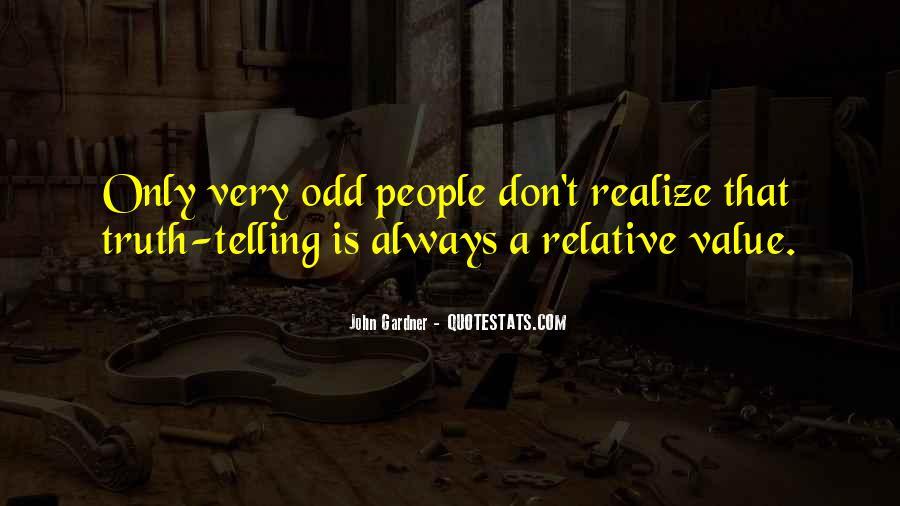 Very Odd Sayings #117563