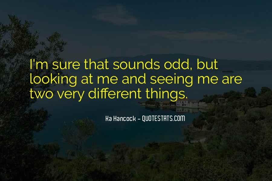 Very Odd Sayings #246813